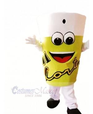 Lemonade Mascot Costume Cartoon