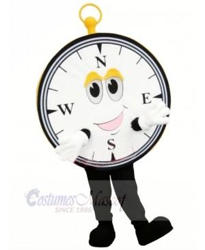Cute Compass Mascot Costume Cartoon