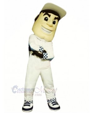 High Quality Driver Mascot Costume People