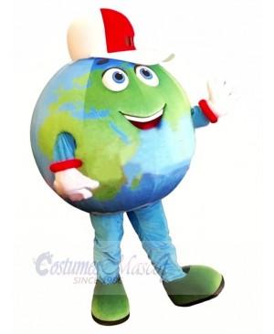 High Quality Earth Mascot Costume Cartoon