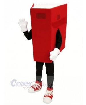 Red Book Mascot Costume Cartoon
