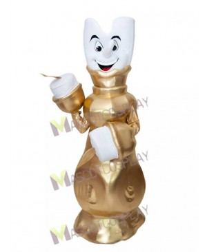 Lumiere Candelabra from Beauty and the Beast Mascot Costume
