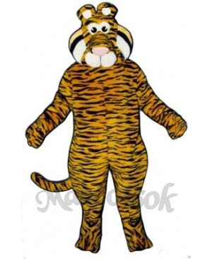 Cute Tyrone Tiger Mascot Costume