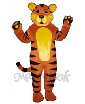 Cute Tiger Cub Mascot Costume