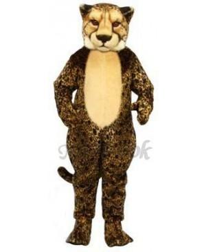 Cute Cheetah Leopard Mascot Costume