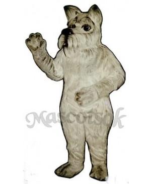 Cute Scottie Dog Mascot Costume