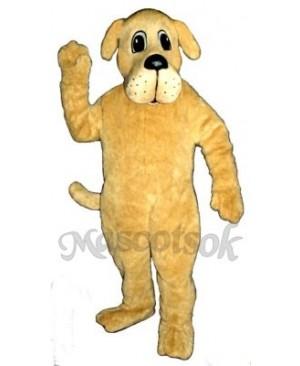 Cute Rah Rah Dog Mascot Costume