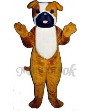 Cute Purvis Pooch Dog Mascot Costume