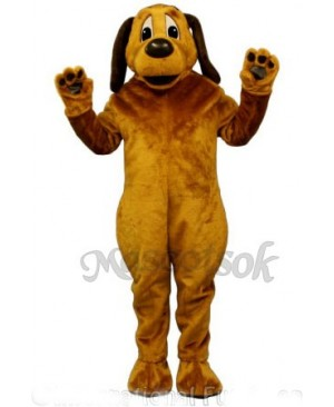 Cute Peter Pound Dog Mascot Costume