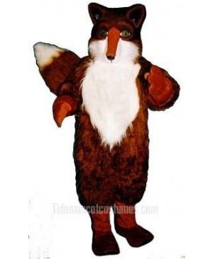 Cute Red Fox Mascot Costume