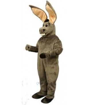 Big Ears Jack Donkey Mascot Costume