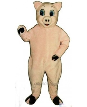 Jolly Pig Christmas Mascot Costume