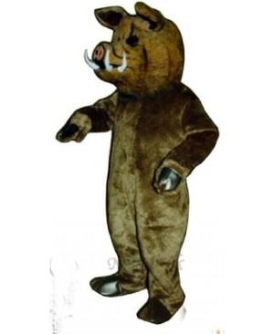 Wild Boar Pig Hog Mascot Costume