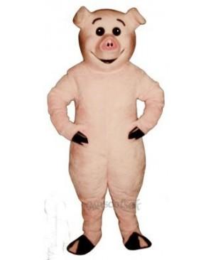 Cute Piglet Pig Mascot Costume
