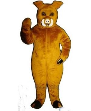 Boar Pig Hog Mascot Costume