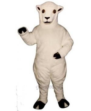 Ewe Lamb Mascot Costume