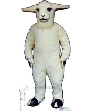 Girl Goat Mascot Costume