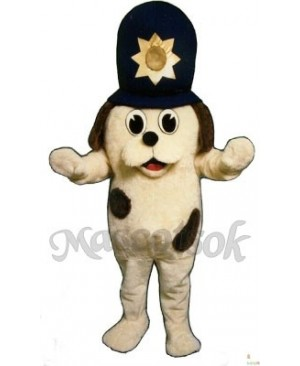 Cute Madcap Dog Mascot Costume