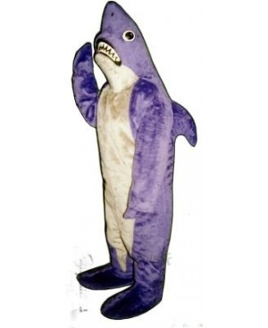 Cute Shark Mascot Costume