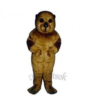 Realistic Otter Mascot Costume