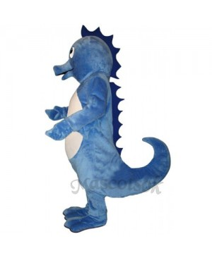 Cute Henry Seahorse Mascot Costume