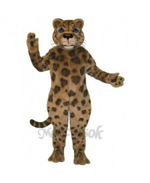 Cute Jaguar Mascot Costume