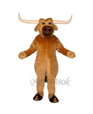 Cute Texas Longhorn Mascot Costume