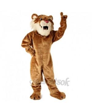 Cute Sabretooth Tiger Mascot Costume
