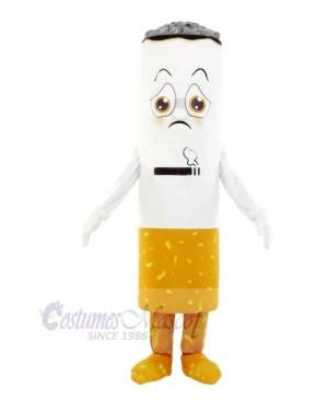 Cute Cigarette Mascot Costume Cartoon