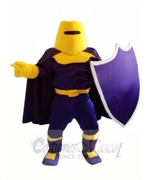 Purple Knight Spartan Trojan Mascot Costume