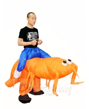Mantis Shrimp Carry me Ride on Inflatable Halloween Xmas Costumes for Adults