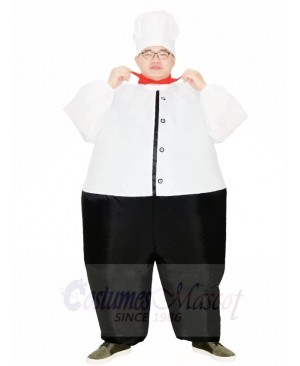 Big Chef Cook Inflatable Costumes Restaurant Promotion Suits for Adult
