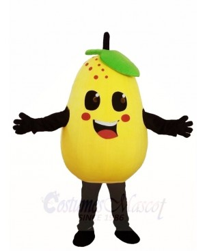 Yellow Pear Mascot Costumes Fruit