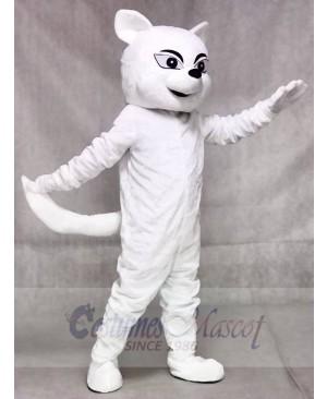 White Fox Mascot Costumes Animal