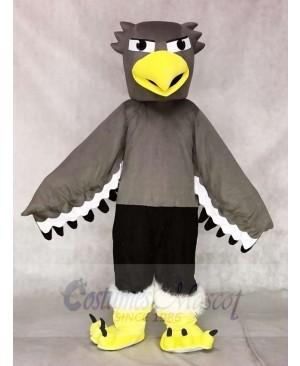 Grey Seahawk Mascot Costumes Animal
