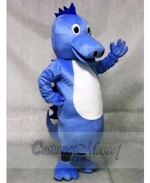 Cute Blue Henry Seahorse Mascot Costumes