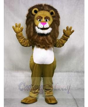 Fierce Wally Lion Mascot Costume