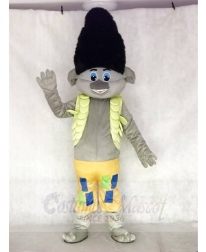 Trolls Guy Branch Boy Mascot Costumes Cartoon