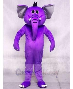 Purple Elephant Mascot Costumes Animal
