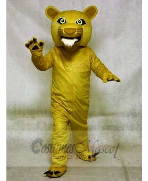 Beardless Cougar Mascot Costumes Animal