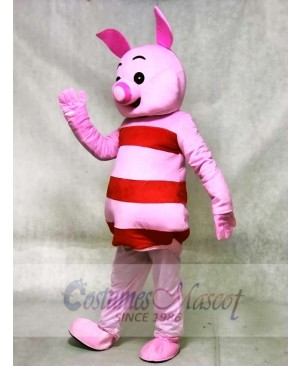Small Round Nose Pink Pig Mascot Costumes Animal