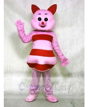 Small Pointed Nose Pink Pig Mascot Costumes Animal