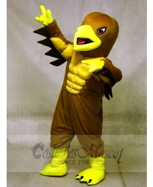 Muscle Mighty Golden Eagle Mascot Costumes Animal