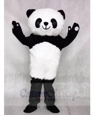 Hairy Panda Mascot Costumes Animal