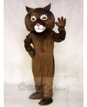 Cute Girl Wildcat Mascot Costumes Animal