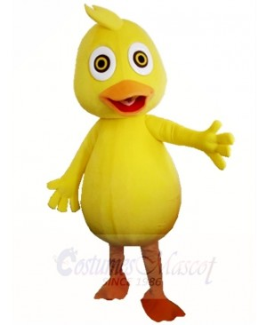 Yellow Duck Mascot Costumes Animal Poultry