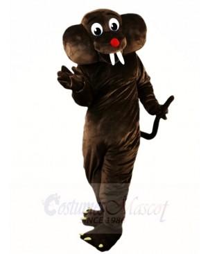 Deep Brown Gopher Mole Mascot Costumes Animal