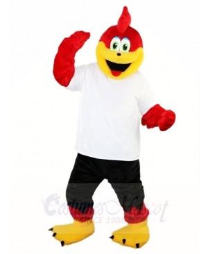 Red Sports Eagle Mascot Costumes Falcon Animal