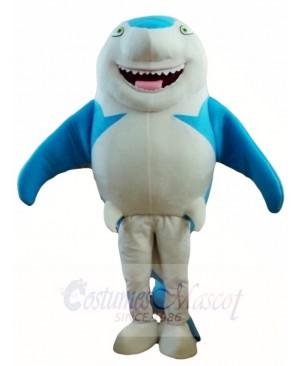 Blue Smile Shark Mascot Costumes Sea Fish Animal Ocean