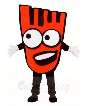 Red Walking Hand Mascot Costumes